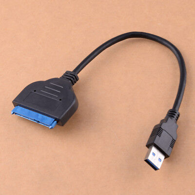 22 Pin SATA3 To USB 3.0 Adapter Converter Cable for 2.5 Inch Hard Drive HDD SSD
