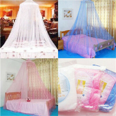Round Lace Insect Bed Canopy Netting Curtain Outdoor Hang Dome Mosquito Nets