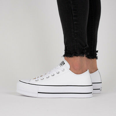 7df05dd9b94 Chaussures Femmes Unisex Sneakers Converse Chuck Taylor All Star Lift   561680C
