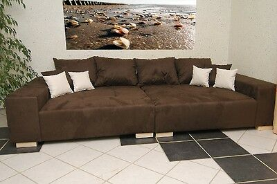 Big Sofa Xxl Mega Schlaf Couch Big Couch Federkern Made In Germany Farbauswahl