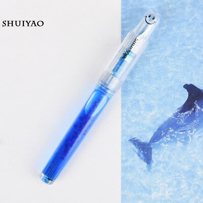 Lingmo LORELEI SMILE Transparent Plastic Fountain Pen Fine 0.5mm