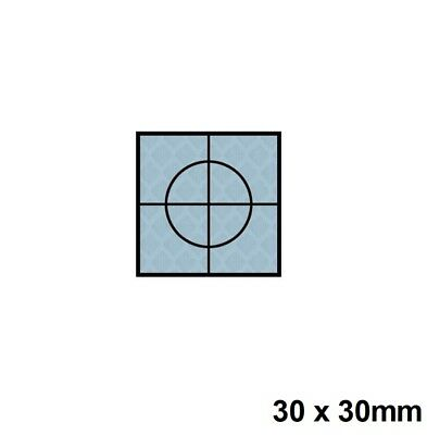 Silver Retro Reflective Targets Packs Of 100 30 x 30mm Surveying Engineer Survey