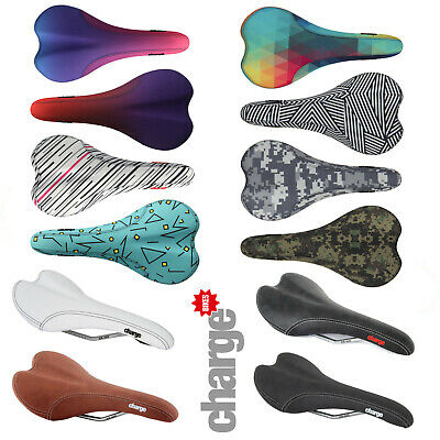 Charge Spoon Lightweight Enduro Mountain Bike Hybrid Road Bicycle Saddle New