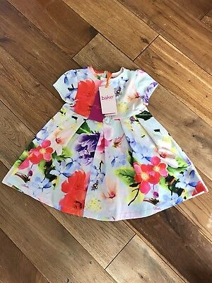 dda6a7dd3 BAKER BY TED Baker Girls Dress 9-12 Months New With Tags - £10.00 ...