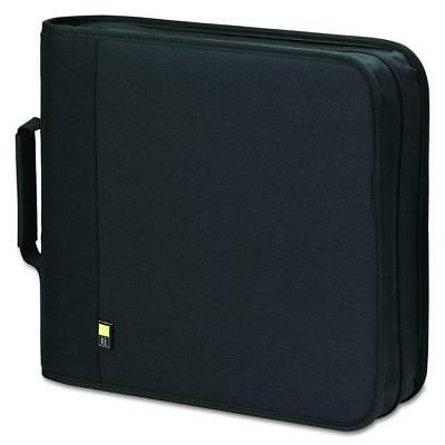 Case Logic BNB-208 208 Capacity CD/DVD Prosleeve Nylon Binder Black