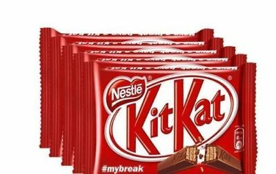 Nestle KitKat Chocolate - 6 x 37gms (pack of 6) gift new free shipping