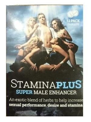 StaminaPlus Super male enhancer (12 pack)