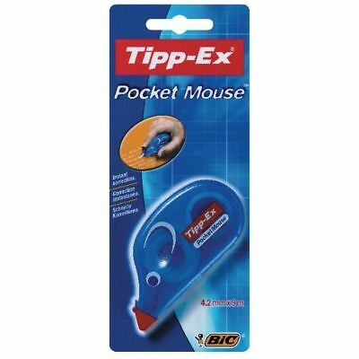 Tipp-Ex Pocket Mouse Correction Tape Blister (Pack of 10) 820790 [TX20790]