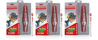 XADO Revitalizant EX120 for gasoline and LPG engines SET of 3 pqs