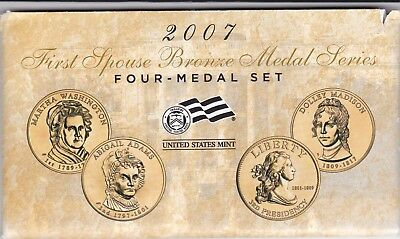 2007 First Spouse Bronze Medal Series-U.S. Mint