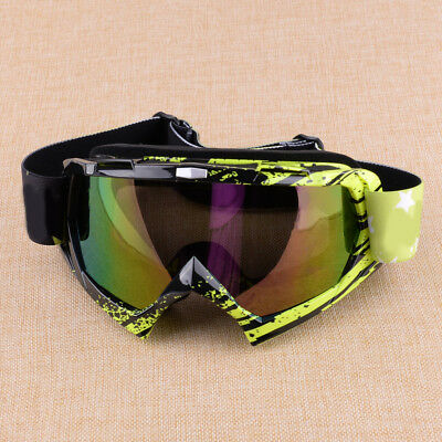 Crossbrille Race MX Enduro Quad Motocross Brille Downhill Klar Verspiegelt