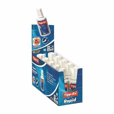 Tipp-Ex White Rapid Correction Fluid 20ml (Pack of 10) 885992 [TX801296]