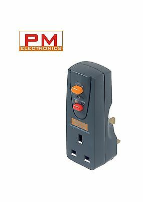 Masterplug Safety RCD Plug In (Circuit Breaker) Safety RCD Plug in Adaptor