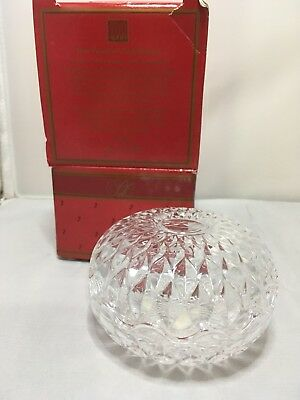 Avon 1986 Lead Crystal Covered Dish Presidents Club Gift 180243