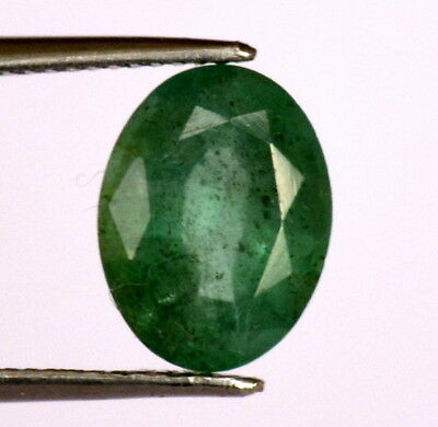 1.51 Cts Certified Natural Emerald Oval Cut 9x7 mm Untreated Loose Gemstone