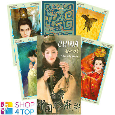 China Tarot Deck Cards Esoteric Fortune Telling Lo Scarabeo New