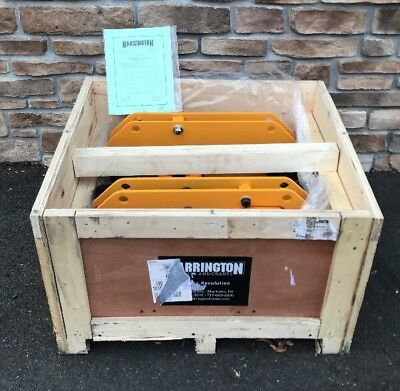 **BRAND NEW** Harrington SHB020-20 Hoist Ultra-Low Steel 2 Ton Trolley