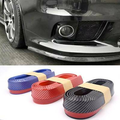 2.5M Car Front Bumper Lip Splitter Chin Spoiler Skirt Safety Rubber Protector