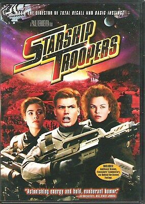 Starship Troopers [DVD] New and Factory Sealed!!