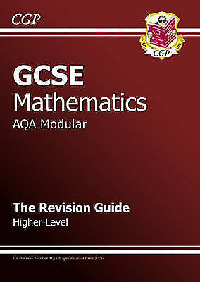 GCSE Maths AQA Modular Revision Guide - Higher, Parsons, Richard, Very Good Book