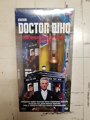 Dr. Who The Christmas Specials DVD Gift Set w/ Twelfth Doctor Sonic Screwdriver