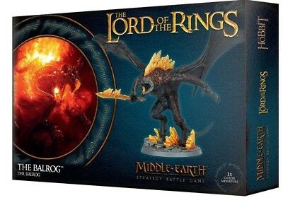 The Balrog. Warhammer Lord Of The Rings. Games Workshop