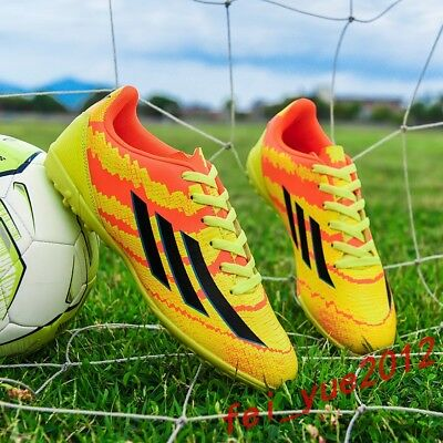 Men Boys Soccer Shoes Cleats Football Indoor Trainers Sneakers Sports Shoes NEW