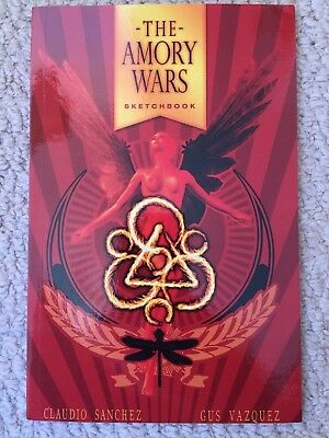 Amory Wars Sketchbook, Issue # 0 by Claudio Sanchez of Coheed and Cambria