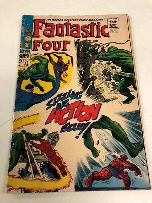Marvel Comics Group Fantasric Four # 71 .12 Cent Cover Free Ship