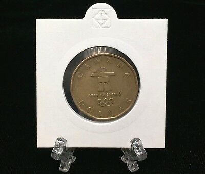 2010 Canada $1 Vancouver Winter Olympic Games Inukshuk Dollar