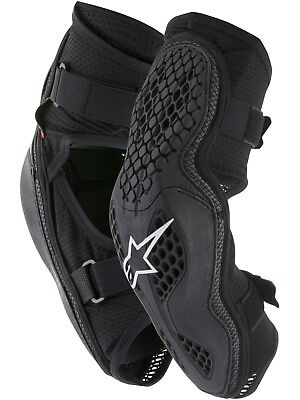 Alpinestars Black-Red Sequence Pair of MX Elbow Guard