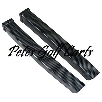 Golf Cart Dash Trim Carbon Fiber Ezgo TxT 1994 to 2013