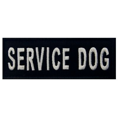 Embroidered patches Hook Loop Patch appliques badges Service Dog Pet Vests 322M