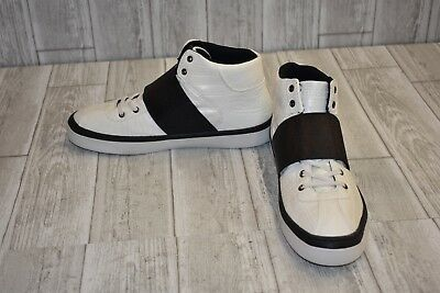 G By Guess Men/'s Theron High-Top Sneakers Black Color SZ  9.5