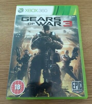 Gears Of War 3 Xbox 360 Game PAL Boxed  FREE POSTAGE UK Seller