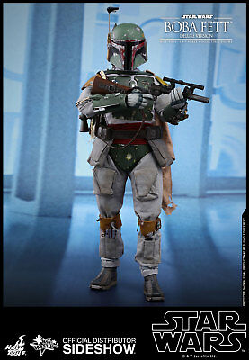 Hot Toys Star Wars Masterpiece Boba Fett Deluxe 12 Inch Figure NEW IN STOCK