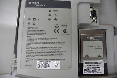 NORTEL CallPilot 100 NTAB9865 & NT5B82CK Flash