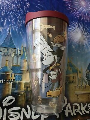 New 2018 Disney Epcot Food And Wine Festival Chef Mickey Mouse Tervis Tumbler