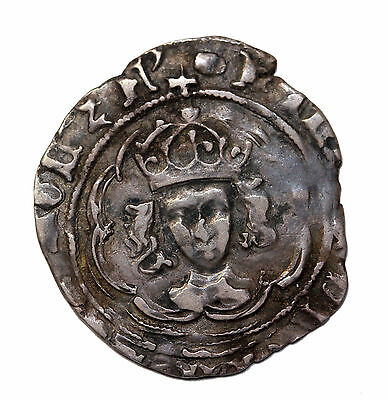 Henry VII 1485-1549 AD Canterbury Mint Great Britain Half Groat S-2208