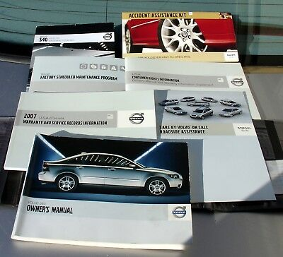 03 volvo s60 factory owners manual oem 7 99 picclick rh picclick com 2006 Volvo S40 Volvo S90