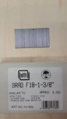 "18 Gauge 1 3/8"" Inch Brads Galvanized Brad Nails"