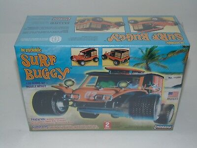 Surf Buggy Lindberg Model Car Kit 1/20 Scale Psychedelic 2012 NEW #11255