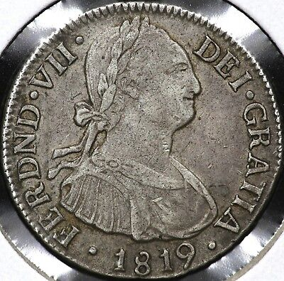 1819Nr-Fj Two 2 Reales Colombia