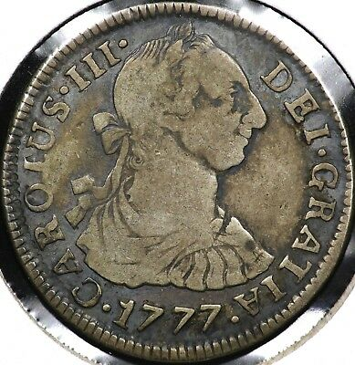 1777-Pr Two 2 Reales Bolivia