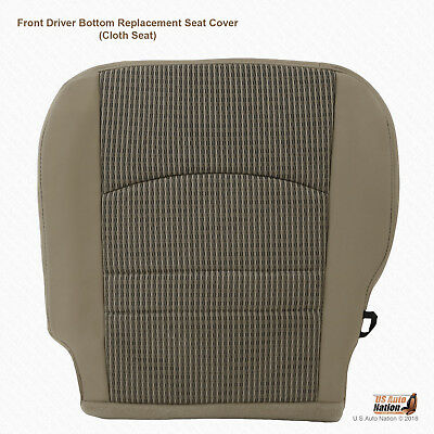 2010 - 2012 Dodge Ram 4500 5500 SLT Driver Bottom Tan Cloth Replacement Cover