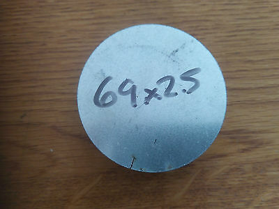 2.5mm Galvanised Round Disc Steel Ring 69x5 Qty 2