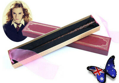 New Hermione Granger Magic Wand Harry Potter Magical Model Gift Prop Cosplay Box