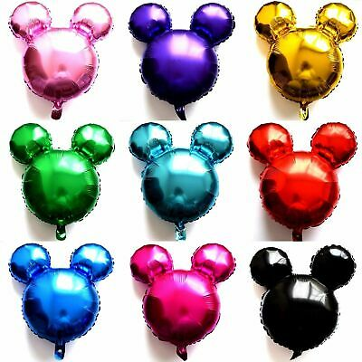 Not Helium Balloon Mickey Mouse Foil Head Disney Minnie Baby Birthday Party