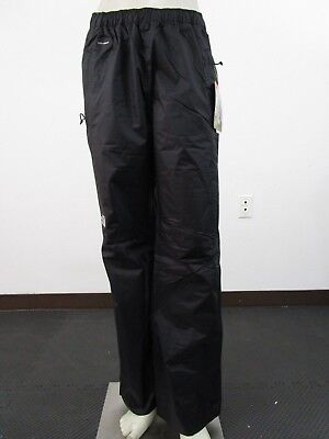 NWT Mens The North Face TNF Venture 1/2 Zip Waterproof Dryvent Shell Pants Black