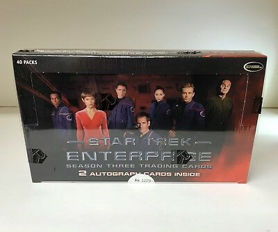 Star Trek Enterprise Season Three - Sealed Trading Card Hobby Box - Rittenhouse
